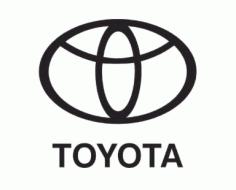 Toyota Logo Free DXF File