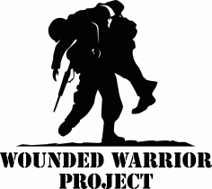 Wounded Warrior Project Logo Wwp Free DXF File