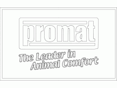 Promat Logo Andy Likes Free DXF File