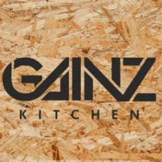 Gainz Health Kitchen Logo Free DXF File