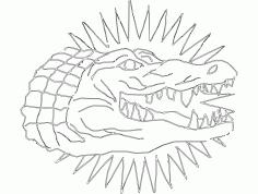 Gator Free DXF File