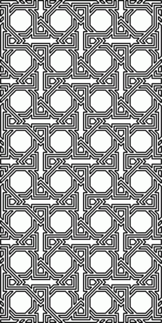 Arabesque Pattern Free DXF File