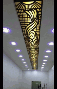 Ceiling Decor Pattern Free DXF File