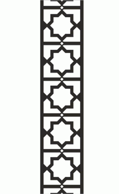 Chinese Style Vector Pattern Free DXF File