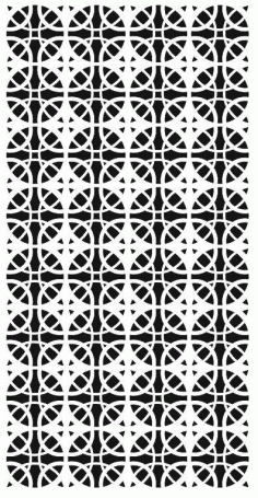 Geometric Seamless Pattern Design Free DXF File