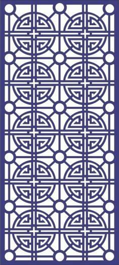 Ornamental Patterns 3 Free DXF File