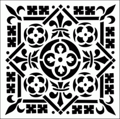 Pattern Design s247 Free DXF File