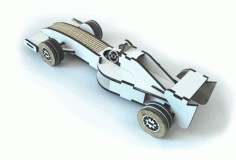 Formula Car Laser Cut Free CDR Vectors Art