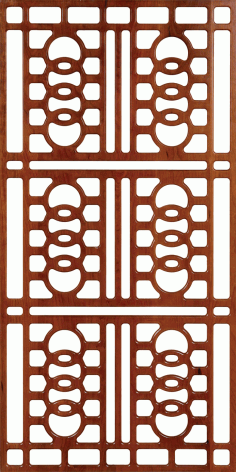 Wall Separator Pattern 300-v38 Free DXF File