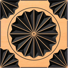 плитка1 Free DXF File