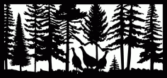 28 X 60 Three Turkeys Plasma Art Free DXF File