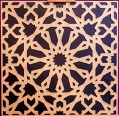 Laser Cut Decor Pattern Free CDR Vectors Art