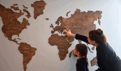 World Map Cnc Laser Cutting Free CDR Vectors Art