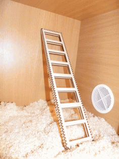 Laser Cut Toy Ladder Free CDR Vectors Art