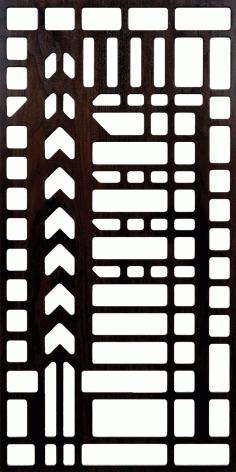 Unframed Grilles 300-v82 Free DXF File