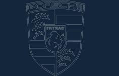 Porsche Acad Free DXF File