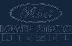 Power Stroke Diesel 3 (small) Free DXF File