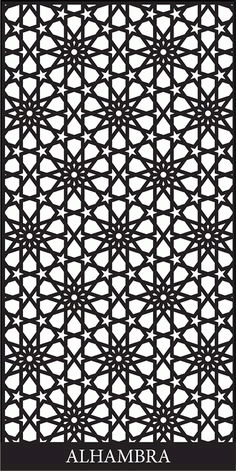 Decorative Screen Designs Free DXF File