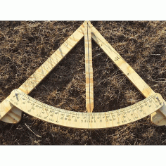 Wooden Gauge Frame Level 6ft Standard Free DXF File