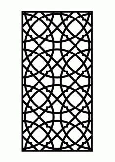 المجموعه الاسلاميه Panel Free DXF File