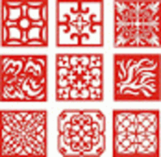 Awesome Cnc Pattern Designs Free CDR Vectors Art