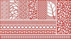 Cnc Cutting Designs Patterns Free CDR Vectors Art