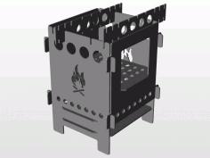 Folding Firebox Stove Free Plasma Cutter Art Patterns Free CDR Vectors Art