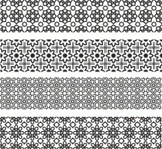Floral Ornament Patterns Free CDR Vectors Art