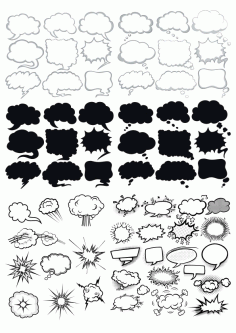 Bubbles Collection Free CDR Vectors Art