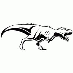 Tyrannosaurus Rex Dinosaur Sketch Clip Art Free CDR Vectors Art