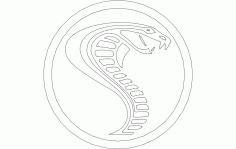 Cobra Cnc Laser Cut Template Free DXF File
