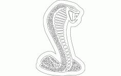 Cobra Cnc Laser Cutting Template Free DXF File