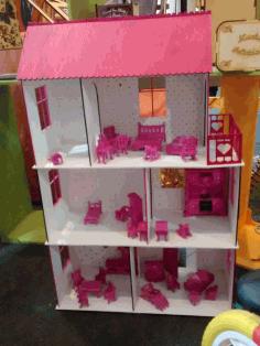 Dollhouse Laser Cut Melba Domenech Free DXF File