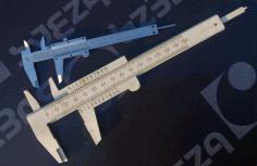 Vernier Caliper Measuring Tool Free DXF File
