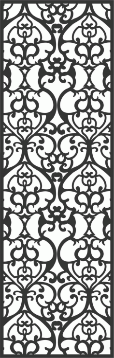 Decorative Screen Patterns For Laser Cutting 1 Free DXF File