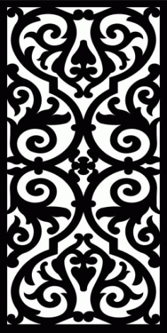 Decorative Screen Patterns For Laser Cutting 7 Free DXF File