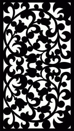 Decorative Screen Patterns For Laser Cutting 13 Free DXF File