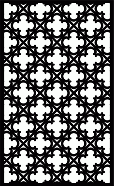 Decorative Screen Patterns For Laser Cutting 14 Free DXF File