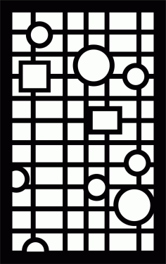 Decorative Screen Patterns For Laser Cutting 16 Free DXF File