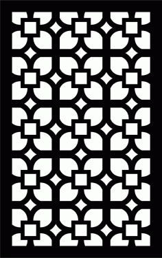 Decorative Screen Patterns For Laser Cutting 18 Free DXF File