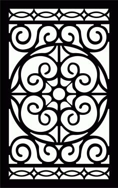 Decorative Screen Patterns For Laser Cutting 19 Free DXF File