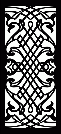 Decorative Screen Patterns For Laser Cutting 24 Free DXF File
