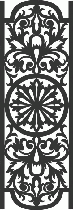 Decorative Screen Patterns For Laser Cutting 30 Free DXF File