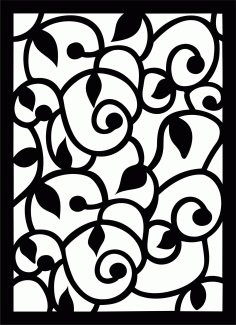 Decorative Screen Patterns For Laser Cutting 41 Free DXF File