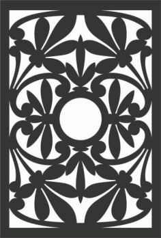 Decorative Screen Patterns For Laser Cutting 47 Free DXF File