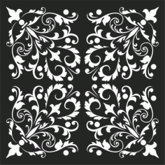 Decorative Screen Patterns For Laser Cutting 50 Free DXF File