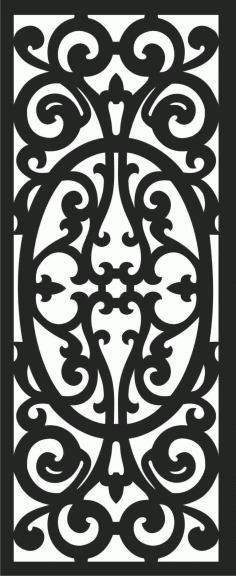 Decorative Screen Patterns For Laser Cutting 56 Free DXF File