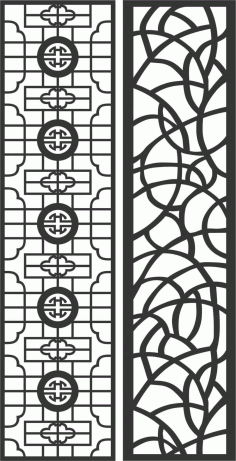 Decorative Screen Patterns For Laser Cutting 81 Free DXF File