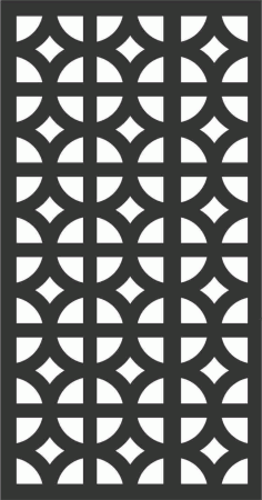 Decorative Screen Patterns For Laser Cutting 96 Free DXF File
