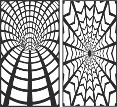 Decorative Screen Patterns For Laser Cutting 133 Free DXF File